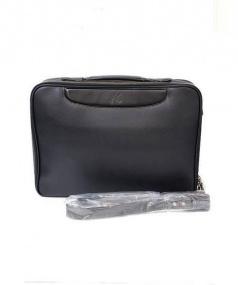 KITAMURA (キタムラ) オールレザー2WAYブリーフバッグ ブラック 未使用品