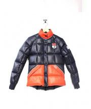 PUFFA(パファ)の古着「スキーヤーダウンジャケット」|ブラック×レッド