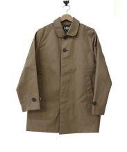 HELLY HANSEN(ヘリーハンセン)の古着「ステンカラーコート/MORK COAT」|ベージュ