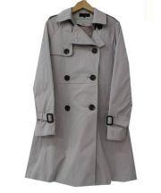 UNTITLED(アンタイトル)の古着「ライナー付トレンチコート」 ライトグレー