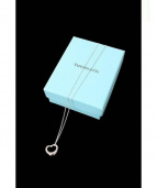 Tiffany & Co.(ティファニー)の古着「オープンハートネックレス」|シルバー