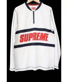 Supreme(シュプリーム)の古着「ハーフジップスウェット」|グレー