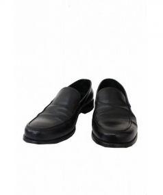 PRADA(プラダ)の古着「レザーローファー」|ブラック