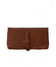 CLEDRAN(クレドラン)の古着「2つ折り財布」|ブラウン