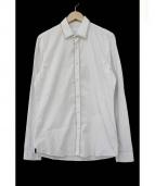 PRADA(プラダ)の古着「スタッズ装飾シャツ」|ホワイト
