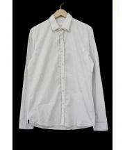 PRADA(プラダ)の古着「スタッズ装飾シャツ」 ホワイト