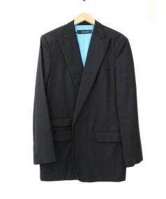 DSQUARED2(ディースクエアード)の古着「ピークドラペルジャケット」|ブラック