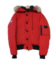 CANADA GOOSE(カナダグース)の古着「ダウンジャケット」|レッド
