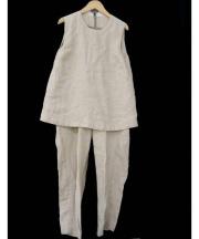 RonHerman(ロンハーマン)の古着「リネンオールインワン」 ベージュ