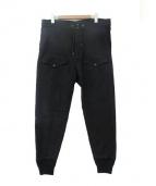 RRL(ダブルアールエル)の古着「スウェットパンツ」|ブラック