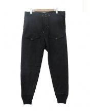 RRL(ダブルアールエル)の古着「スウェットパンツ」 ブラック
