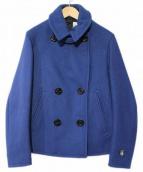 ORCIVAL(オーチバル)の古着「ヘビーメルトンPコート」|ネイビー