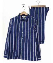 SLEEPY JONES(スリーピージョーンズ)の古着「パジャマセットアップ」|ブルー