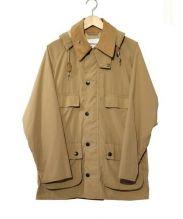 Barbour(バブアー)の古着「ストレッチナイロンビデイルジャケット」|ベージュ