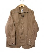 POST O'ALLS(ポストオーバーオールズ)の古着「カバーオール」 ブラウン