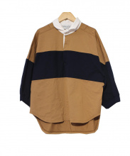 Americana(アメリカーナ)の古着「ワイドラガーシャツ」|ブラウン