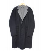 mila schon(ミラショーン)の古着「カシミヤライトチェスターコート」|ブラック
