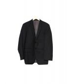 Le Chic×LORO PIANA(ル・シック×ロロピアーナ)の古着「2ボタンテーラードジャケット」|ブラック