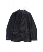 FRANK LEDER(フランクリーダー)の古着「ジャーマンレザー・ヘビーコットンジャケット」|ブラック