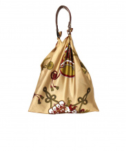 manipuri(マニプリ)の古着「スカーフバッグ」