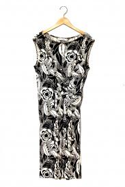 Christian Dior(クリスチャンディオール)の古着「フラワープリントシルクジャージーワンピ」