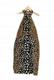 Christian Dior(クリスチャンディオール)の古着「アニマルプリントシルクワンピース」