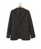 ESTNATION(エストネーション)の古着「メリルジャージジャケット」|カーキ