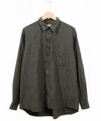 COMME des GARCONS SHIRT(コムデギャルソンシャツ)の古着「フリルデザインウールシャツ」