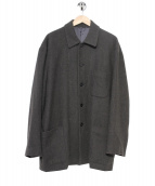 JURGEN LEHL(ヨーガンレール)の古着「ステンカラーコート/オーバーサイズジャケット」