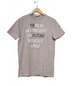 MONCLER(モンクレール)の古着「メッセージプリントTシャツ」