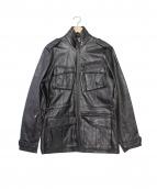 7 for all man kind(セブンフォーオールマンカインド)の古着「レザージャケット」|ブラック