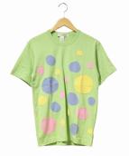 COMME des GARCONS SHIRT(コムデギャルソンシャツ)の古着「ランダムドットパッチTシャツ」
