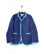 COMME des GARCONS SHIRT(コムデギャルソンシャツ)の古着「パイピングキルティングジャケット」