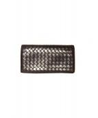 BOTTEGA VENETA(ボッテガベネタ)の古着「イントレ2つ折り長財布」