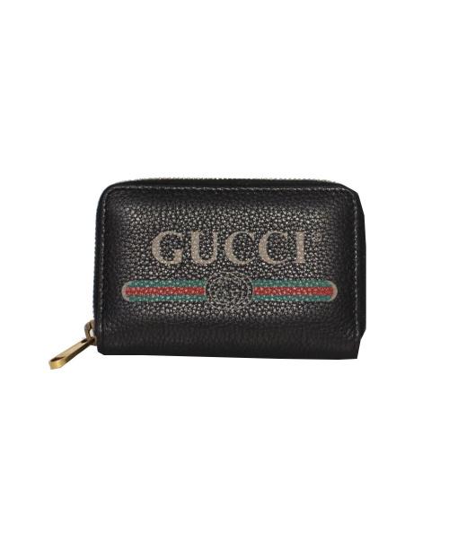 GUCCI(グッチ)GUCCI (グッチ) ヴィンテージロゴコインケース 496319・493075の古着・服飾アイテム