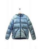 REMI RELIEF(レミ レリーフ)の古着「藍染め加工ダウンジャケット」|ブルー
