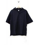 KAPTAIN SUNSHINE(キャプテンサンシャイン)の古着「和紙スキッパープルオーバーシャツ」