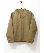 STILL BY HAND(スティルバイハンド)の古着「マウンテンパーカー/フーデッドブルゾン」|ブラウン