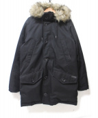POLO RALPH LAUREN(ポロラルフローレン)の古着「N-3Bタイプダウンコート」|ブラック