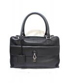 LOEWE(ロエベ)の古着「ボストンハンドバッグ」|ブラック