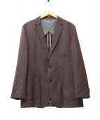 BOSS HUGO BOSS(ボスヒューゴボス)の古着「テーラードジャケット」|パープル
