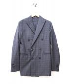 DSQUARED2(ディースクエアード)の古着「セットアップダブルスーツ」|グレー