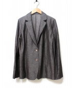 Leilian(レリアン)の古着「テーラードジャケット」|ブラウン