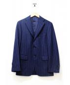RING JACKET(リングジャケット/リングヂャケット)の古着「シャドーストライプセットアップスーツ」|ネイビー
