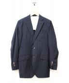 LORO PIANA(ロロピアーナ)の古着「2Bテーラードジャケット」|ダークグレー