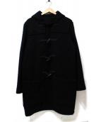 agnes b HOMME(アニエスベーオム)の古着「ロングダッフルコート」|ブラック