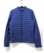 HERNO(ヘルノ)の古着「切替中綿ジャケット」|ブルー