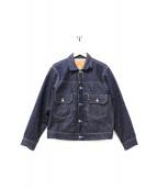 LEVIS VINTAGE CLOTHING(リーバイス ヴィンテージ クロージング)の古着「USA製2ndタイプデニムジャケット」|ネイビー