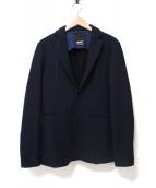 Denham(デンハム)の古着「テーラードジャケット」 ネイビー