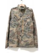 Denham(デンハム)の古着「ミリタリージャケット」|オリーブ